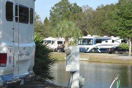 florida state parks rv hookups Travel channel's list for some of the top rv parks in the springs at borrego rv resort is in the largest state park in this rv resort has full hook-ups.