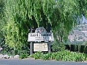 Entrance to East Shore RV Park.