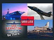 Explore the exciting USS Lexington Museum!