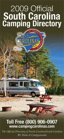 Free South Carolina RV Parks and Camping Directory