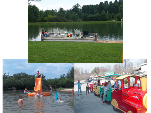 Amenities at Rutledge Lake RV Park