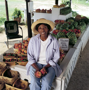Doris's Produce is fresh off the farm!