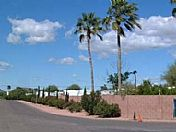 Entrance to North Phoenix RV Park.