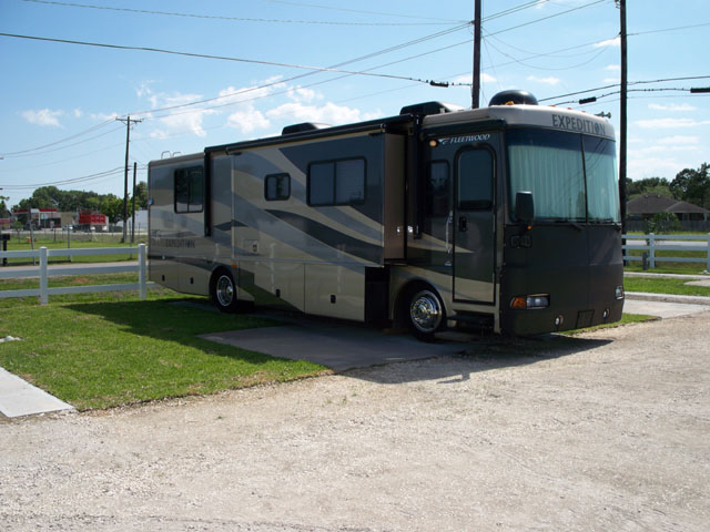 Palms RV Park Home Page, camping near Houston and Galveston