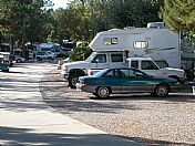 Entrance to Rancho Los Coches RV Park