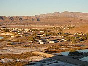 Sunrise Over Tecopa Hot Springs